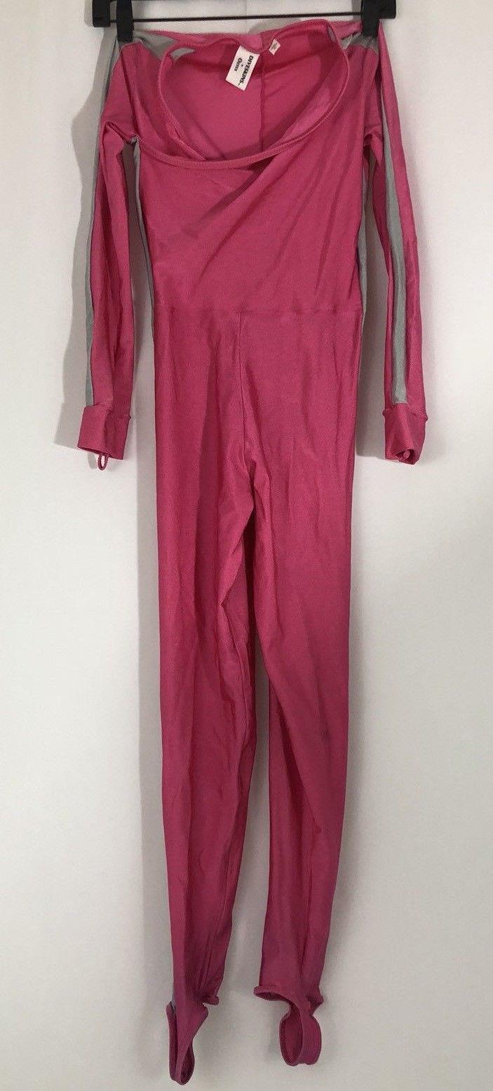 DIVESKINS by OZTEX Full Scuba Diving Long Sleeve Women's Size Medium Pink Gray