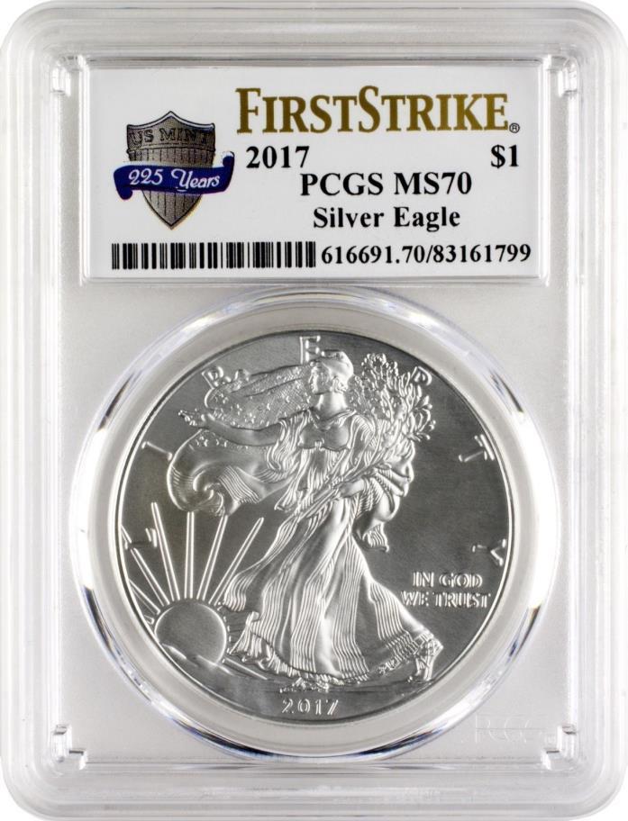 ~~~~~~~~~~~~~~~ PCGS MS70 American Silver Eagle ~~~~~~~~~~~~~~~