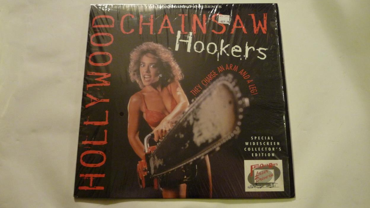 Hollywood Chainsaw Hookers Laserdisc Fred Olen Ray Roan Group