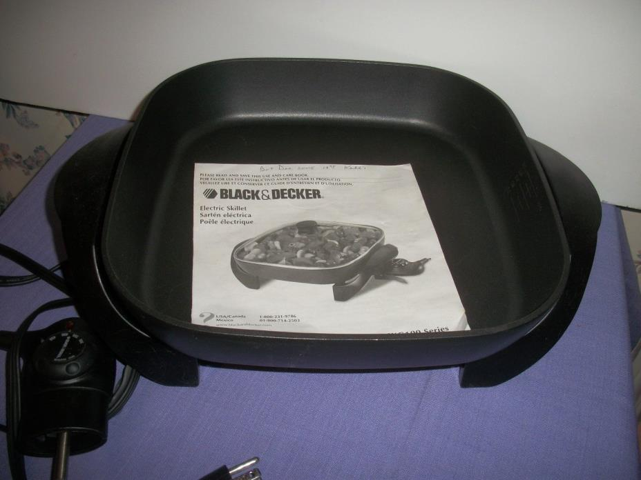 ELECTRIC SKILLET by BLACK & DECKER