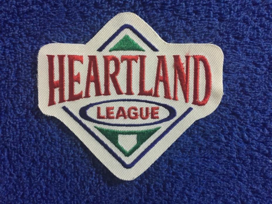 1997 Heartland League Defunct Baseball Minor League Unused Jersey Patch