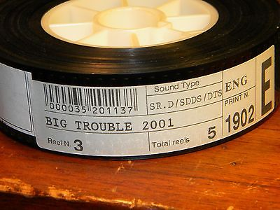 35mm Film Movie Trailer Big Trouble Reel 3