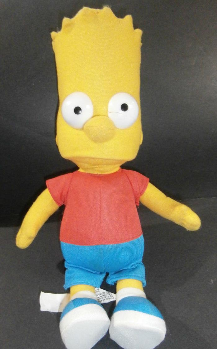 Bart Simpson 15 inches Doll Damage