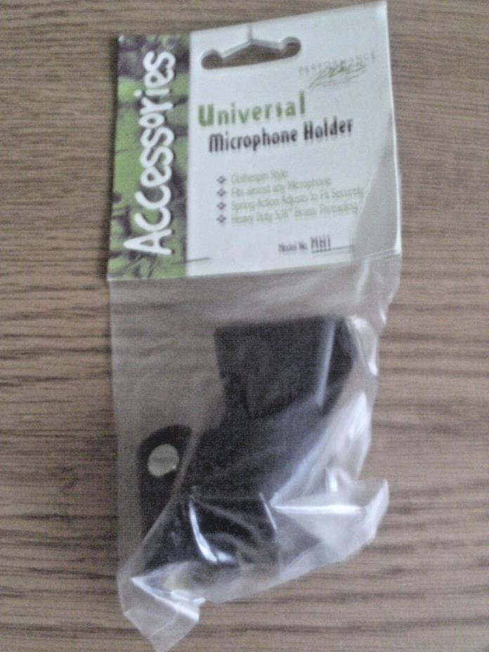 Universal Microphone Holder Model No. MH1