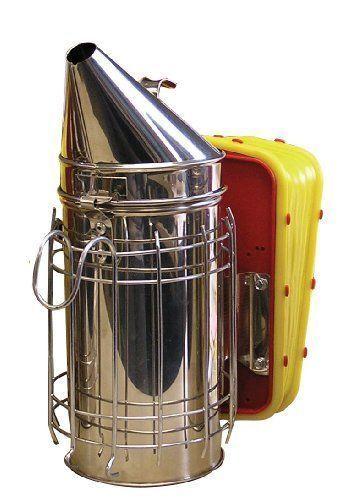 Mann Lake Bee Hive Smoker Honey Bees Smoke Shield Heat Protection
