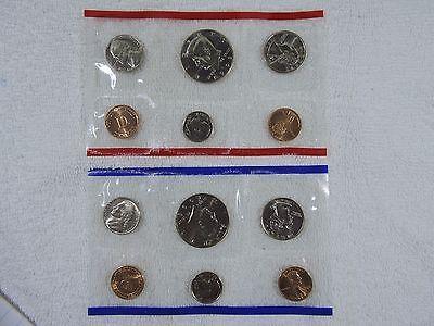 1996 P & D US Mint Uncirculated Coin Set Bonus Roosevelt Dime All Paperwork