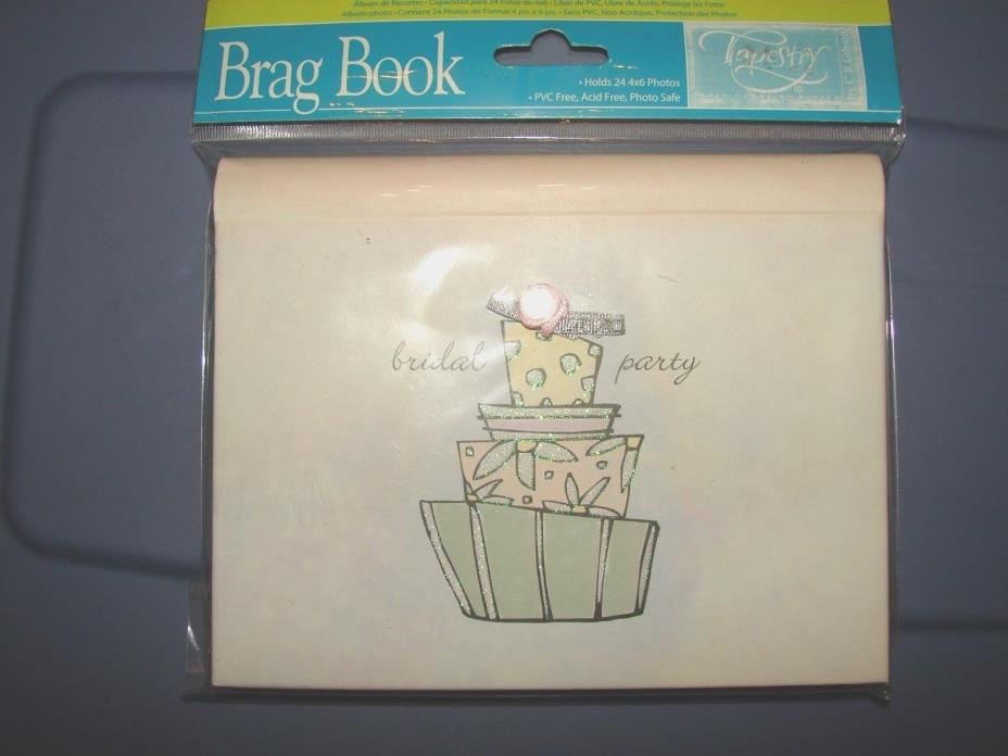 Tapestry Bridal Party Brag Book Photo Album ~ New ~ (Compare pricing on eBay!!)
