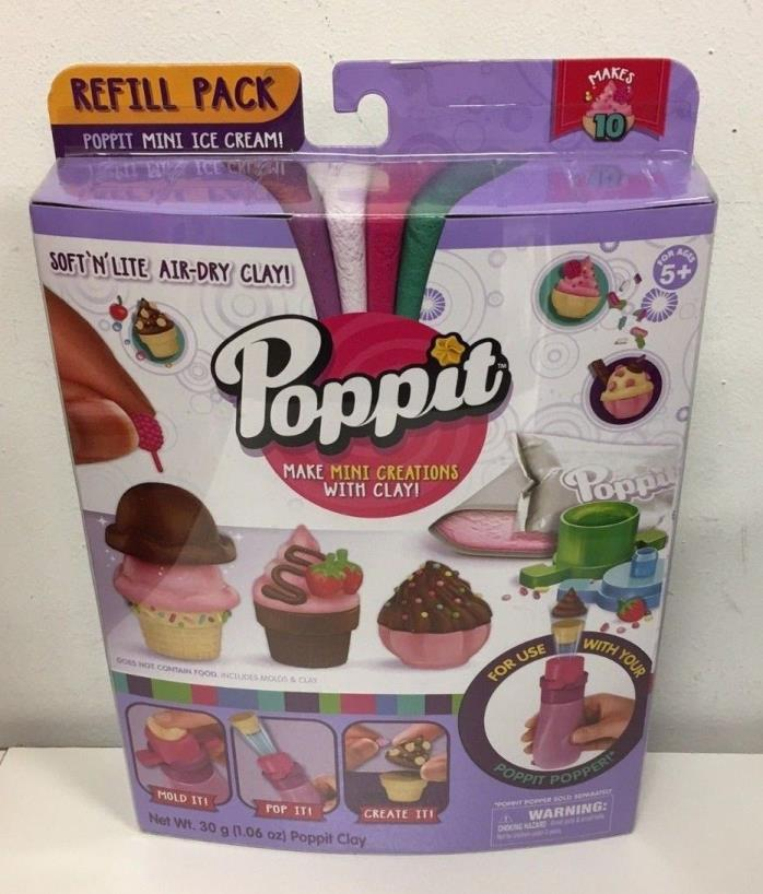Poppit Season 1 Refill Pack - Ice Cream Lot of 3 New ships free