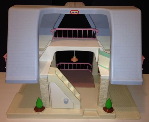 Little Tikes Dollhouse Blue For Sale Classifieds