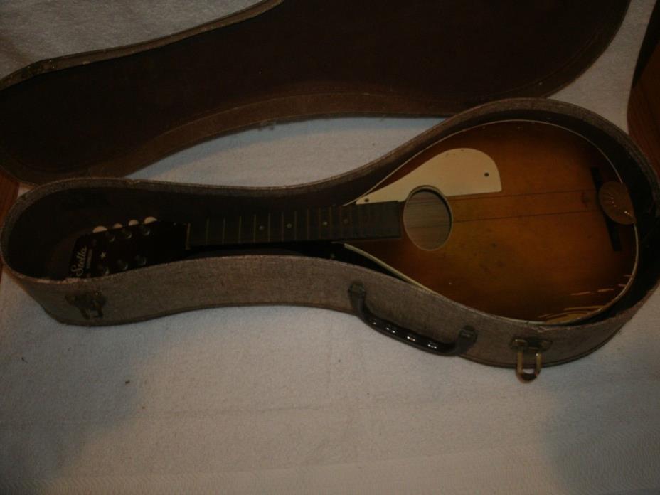 Vintage Stella Harmony Flat Mandolin