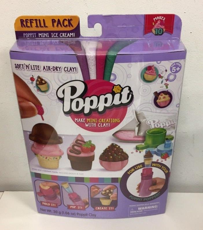 Poppit Season 1 Refill Pack - Cupcake Lot of 4 New ships free