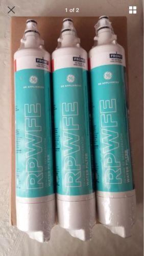 GE RPWFE Refrigerator Filters, 3-Pack