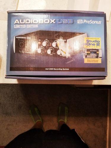 PreSonus AudioBox USB Digital Recording Interface 2 Channel
