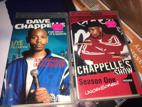 Dave Chapelle Chapelles Show Psp Comedy Central Volume 1 Live Umd Video
