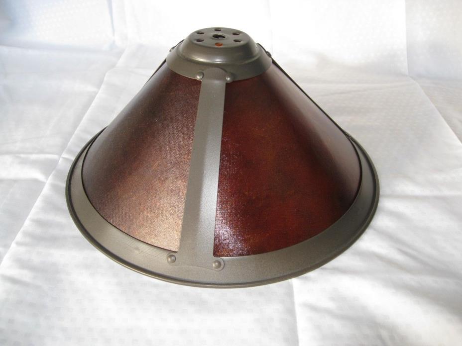 Van Erp Amber Replacement Mica Lamp Shade 11