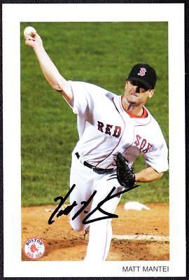 Matt Mantei, Boston Red Sox - Signed Color Photo Autograph Reprint