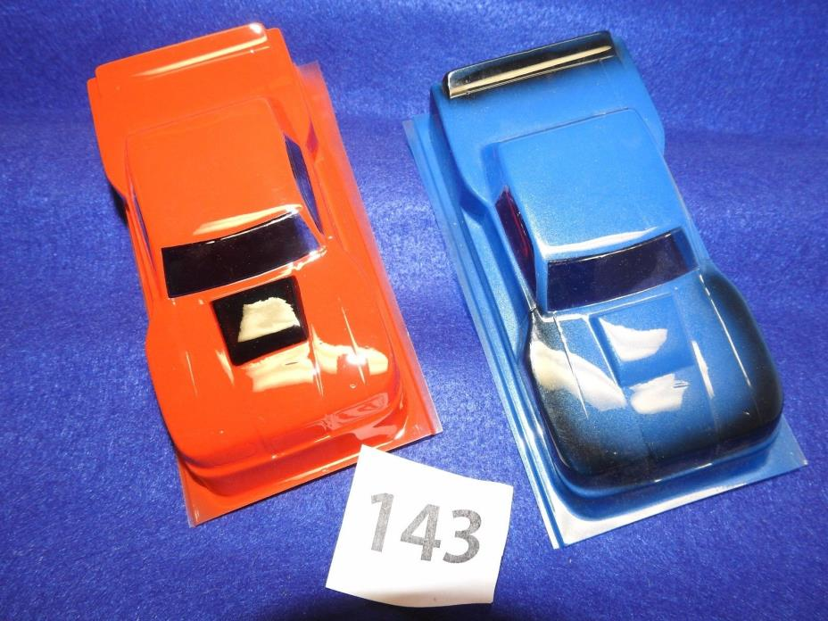 SET OF TWO CHAMPION 1/24TH BUICK SOMERSET FACTORY PAINTED SLOT CAR BODIES