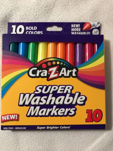 Cra-Z-Art Super Washable Markers 10 Pack