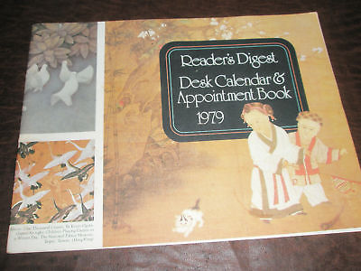 1979 COLLECTIBLE READER'S DIGEST CALENDAR & APPOINTMENT