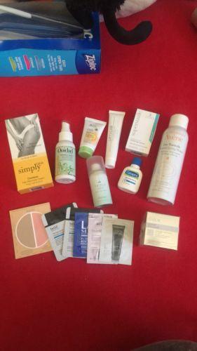 Skincare & haircare Sample Lot