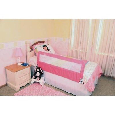 Regalo Extra Long Hideaway Bed Rail Pink Rails Baby Safety Health