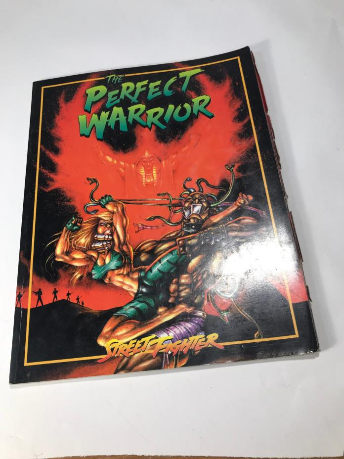 Street Fighter RPG: The Perfect Warrior White Wolf  Capcom  WW9504