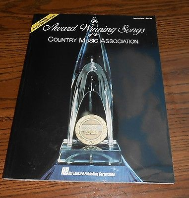 Award Winning Songs of CMA 2nd Ed Songbook Country Piano Vocal Guitar 35 songs
