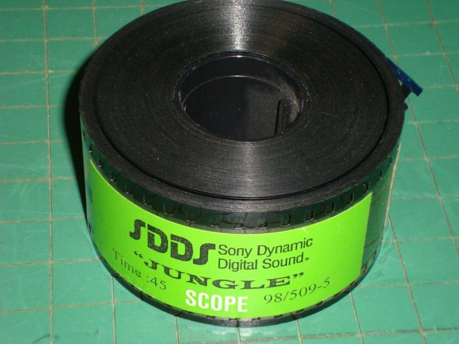 35mm Film Snipe Sony Dynamic Digital Sound