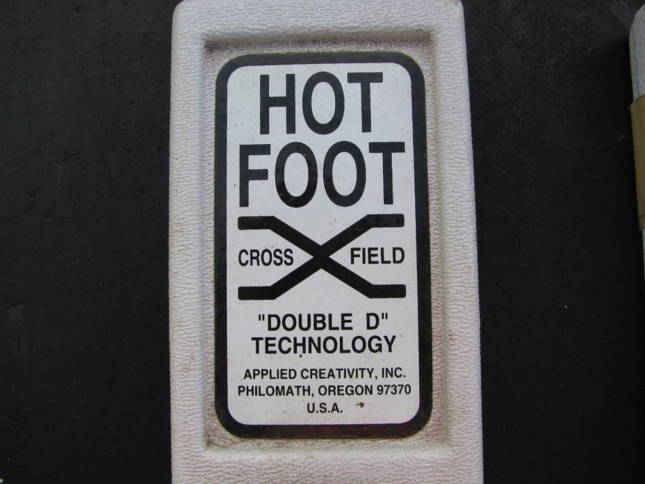 two HOT FOOT COILS White's DFX/GMT Metal Detector APPLIED CREATIVITY/DOUBLE D