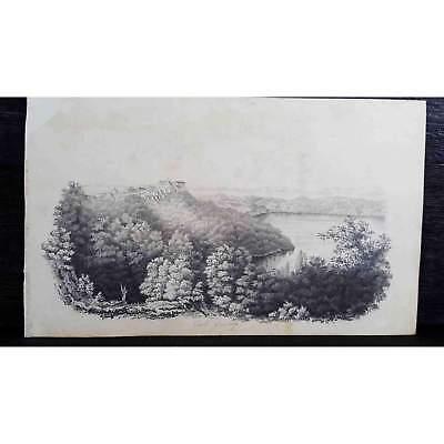 Antique Original British Pencil Drawing, circa 1823, #1 of 8 -