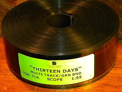 35mm Film Movie Scope Trailer Thirteen Days
