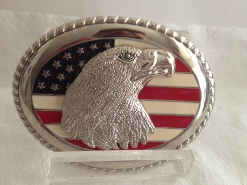 US Flag Belt Buckle. New. Free Shipping