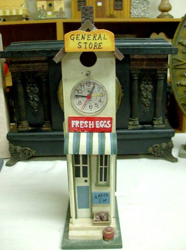 Bird House clock (Quartz) With Alarm