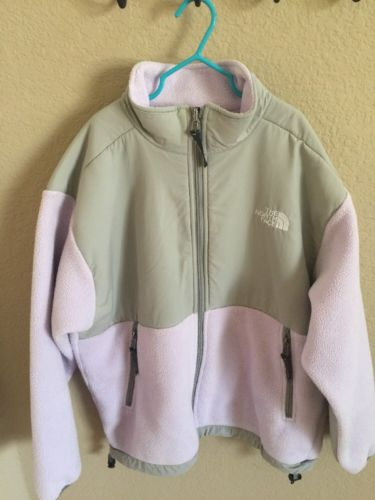 Northface  Fleece Denail Jacket Size Youth/Junior Large