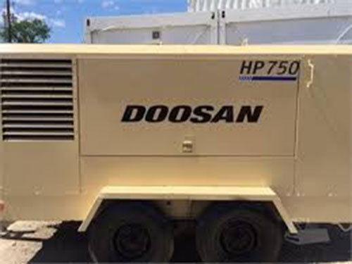 2011 DOOSAN HP750WCU-T3 Compressor, Diesel, 7434 Hours - Colorado