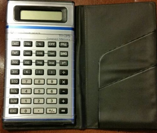 Texas Instruments ti-35 Plus Calculator