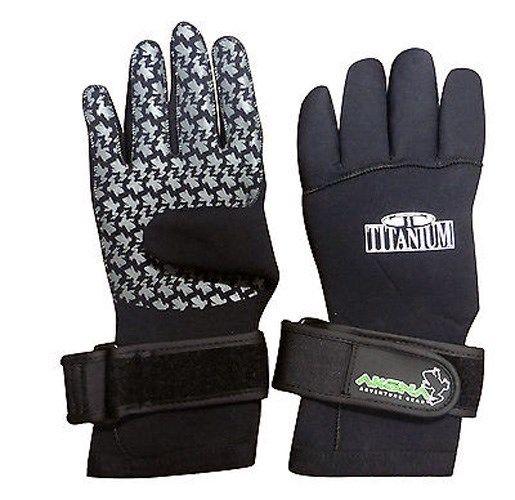 Akona Titanium Gloves 5mm Size XXS Scuba Snorkel Free Diving Swimming Spear Fish