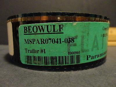BEOWOLF  35mm movie trailer film cell original collectibles slides