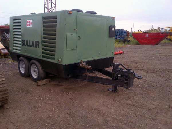 2011 SULLAIR 750HDTQCA Compressor 6298 Hours - Well Maintained - Missouri