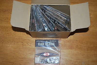 Vintage Swim Style Ear Plugs No. 25 CD - Old Stock New Box of 12 - MIB!!!