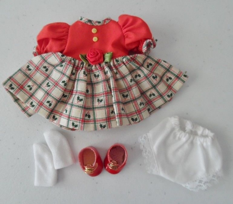 GINNY DOLL  DRESS OUTFIT ~ EUC