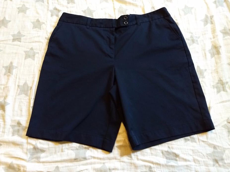 Vineyard Vines Shorts size 16 Blue coolmax Walk Swimming Golfing bermuda