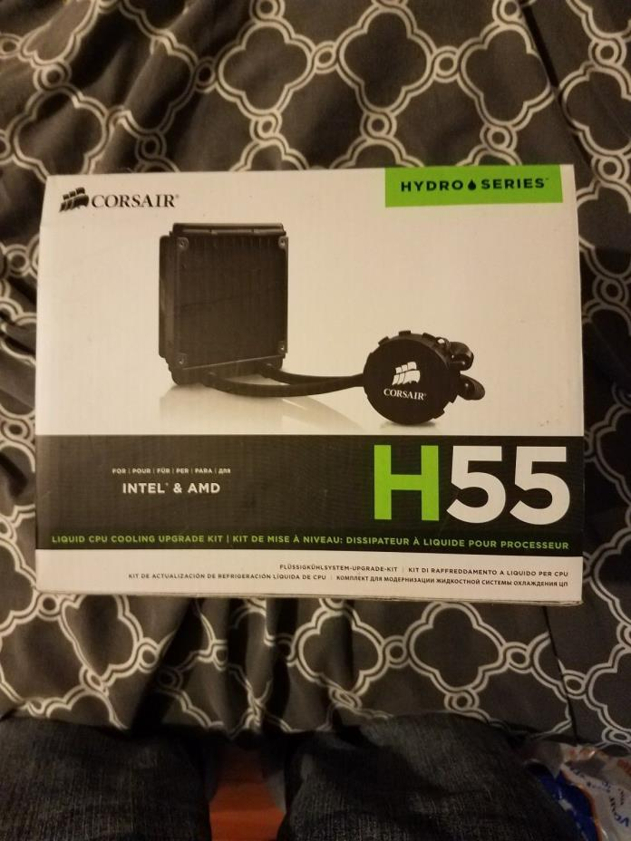 Corsair H55 Liquid cooler