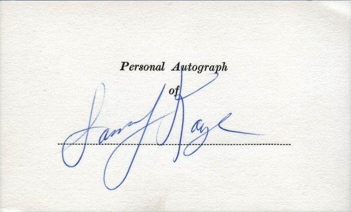 SAMMY KAYE Autograph