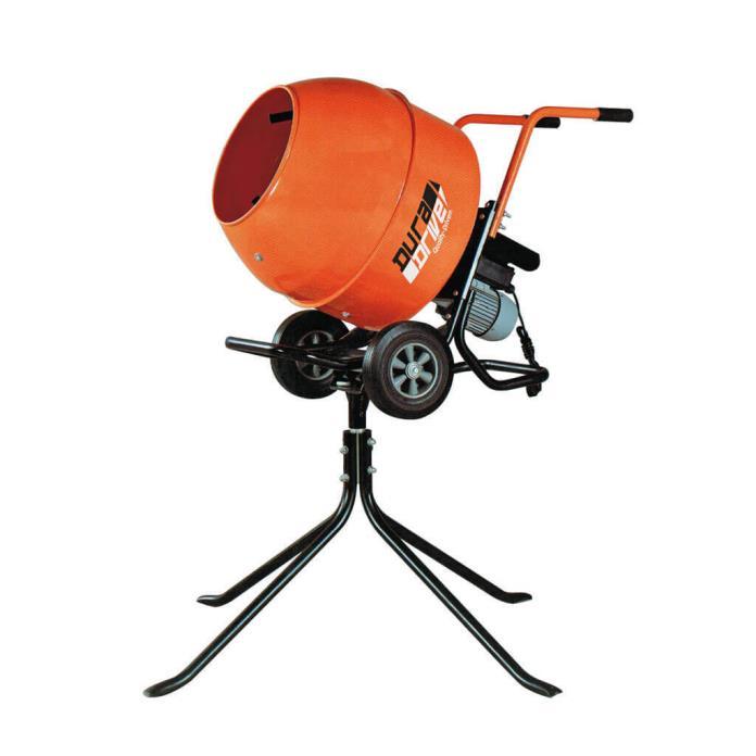 DuraDrive DCM140 Portable Concrete Mixer