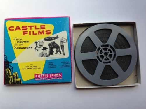 8mm CAMERA THRILLS of the WAR no.156 from Castle Films (WWII Footage)