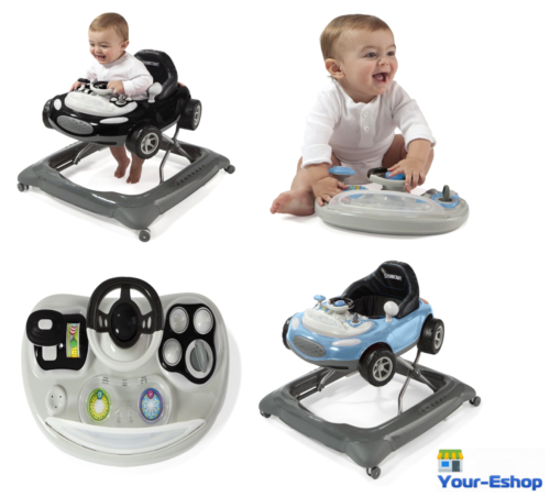 Interactive Activity Baby Walker Adjustable Drive Car Toddler Walkers With Toys