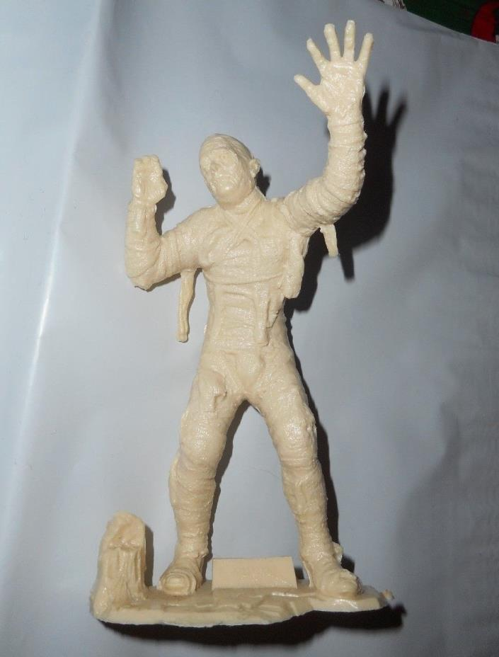 1990 Reissue Marx Tan Mummy Plastic Figure