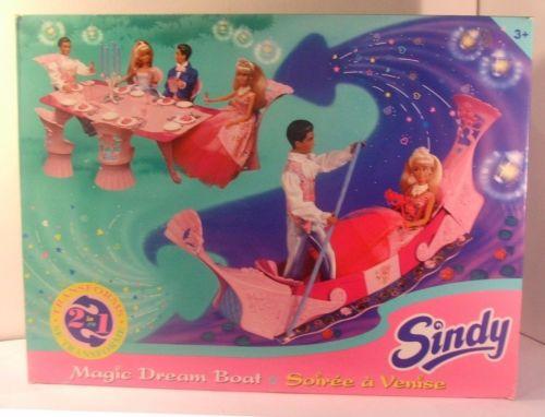 Sindy Magic Dream Boat Night in Venice Gondola Play Set Hasbro New Sealed Box