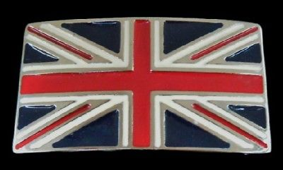 British Flag England UK United Kingdom Belt Buckle
